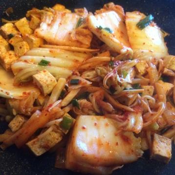 Add mushrooms and kimchi!