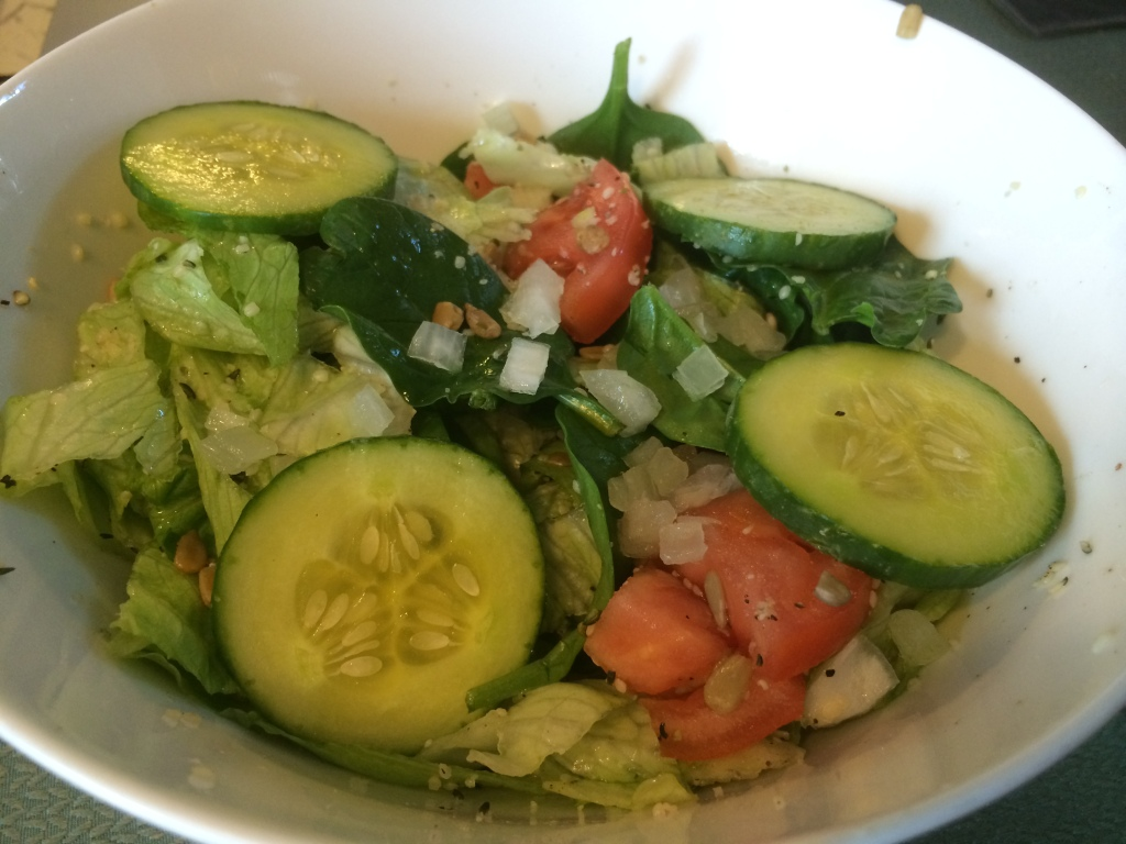 Tossed Salad with Vegan Ranch Dressing