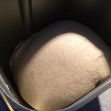 Making dough!