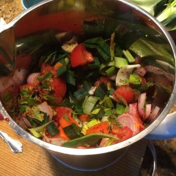 Leek Veggie Soup