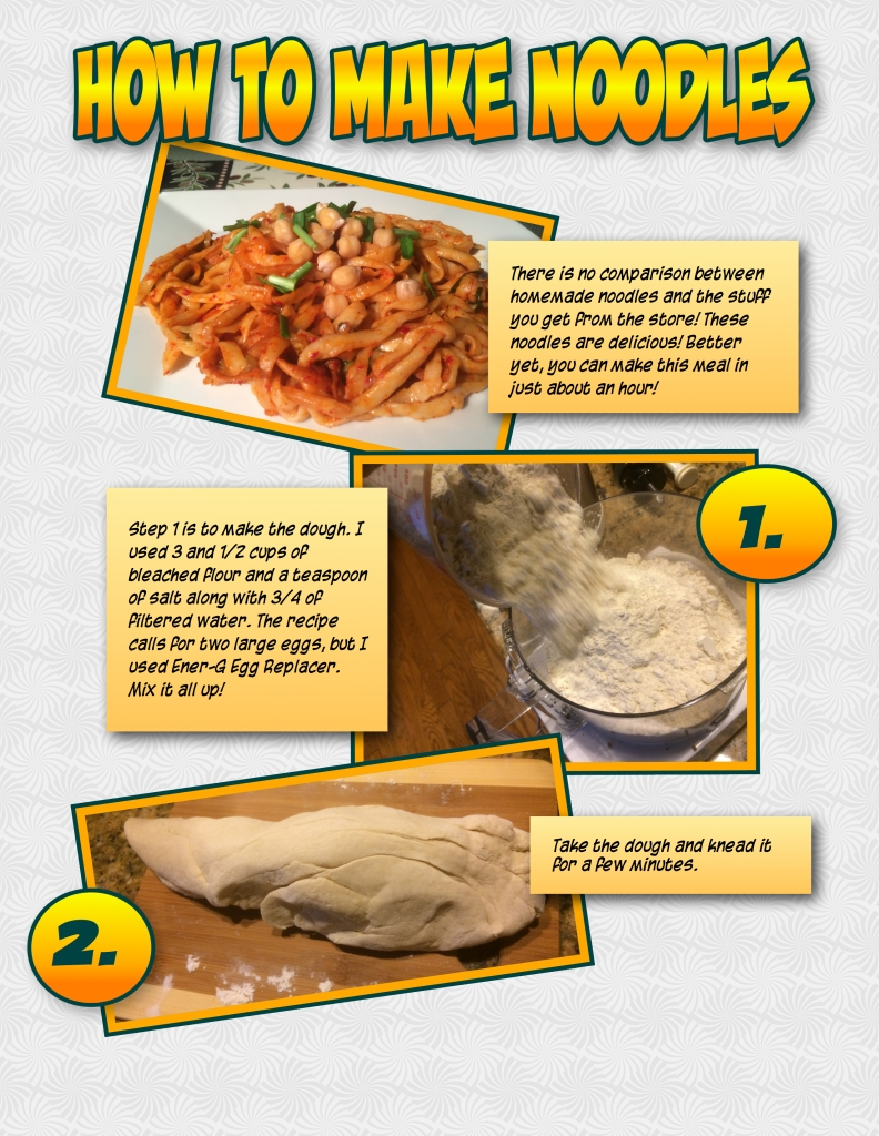 How to make noodles!