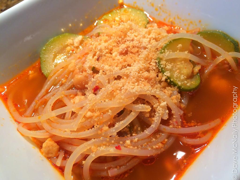 Spicy Noodle Soup