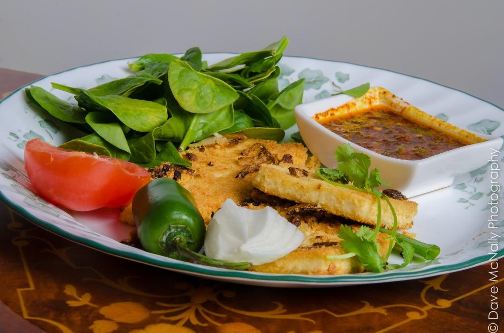 Fried Homemade Tofu!