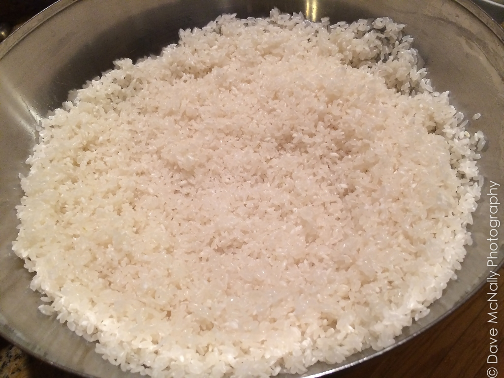 Making Korean Rice Wine