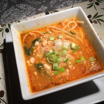 Spicy Asian Soup