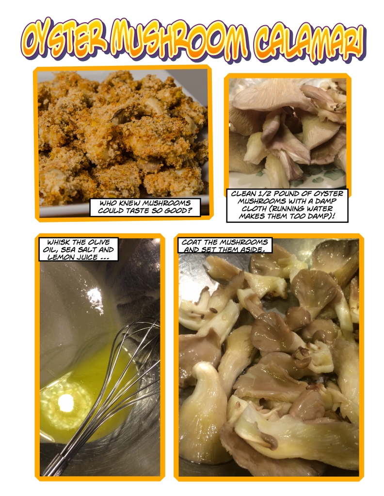Oyster Mushroom Calamari