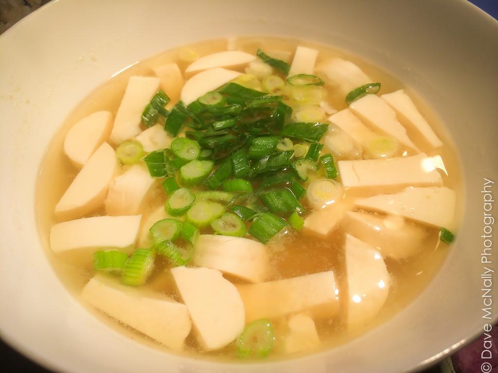 Miso Tofu Soup