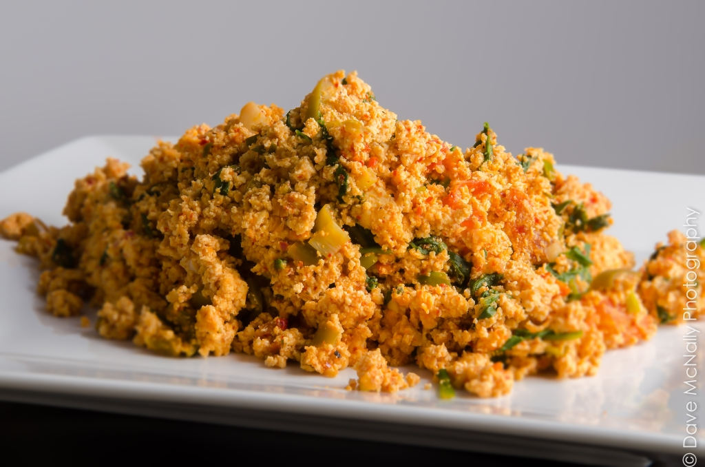 Tuscan Tofu Scramble