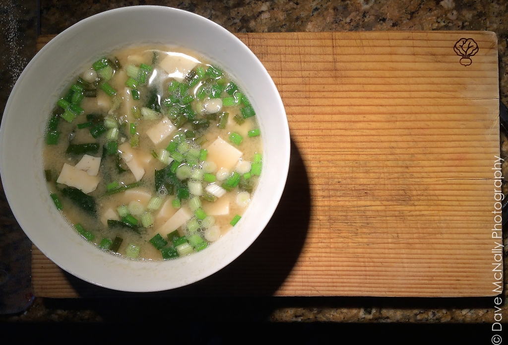 Miso Soup with Spinach