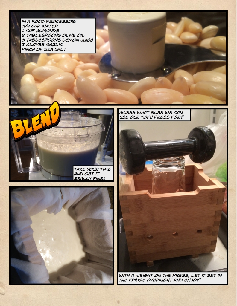 How to Make Almond Cheese