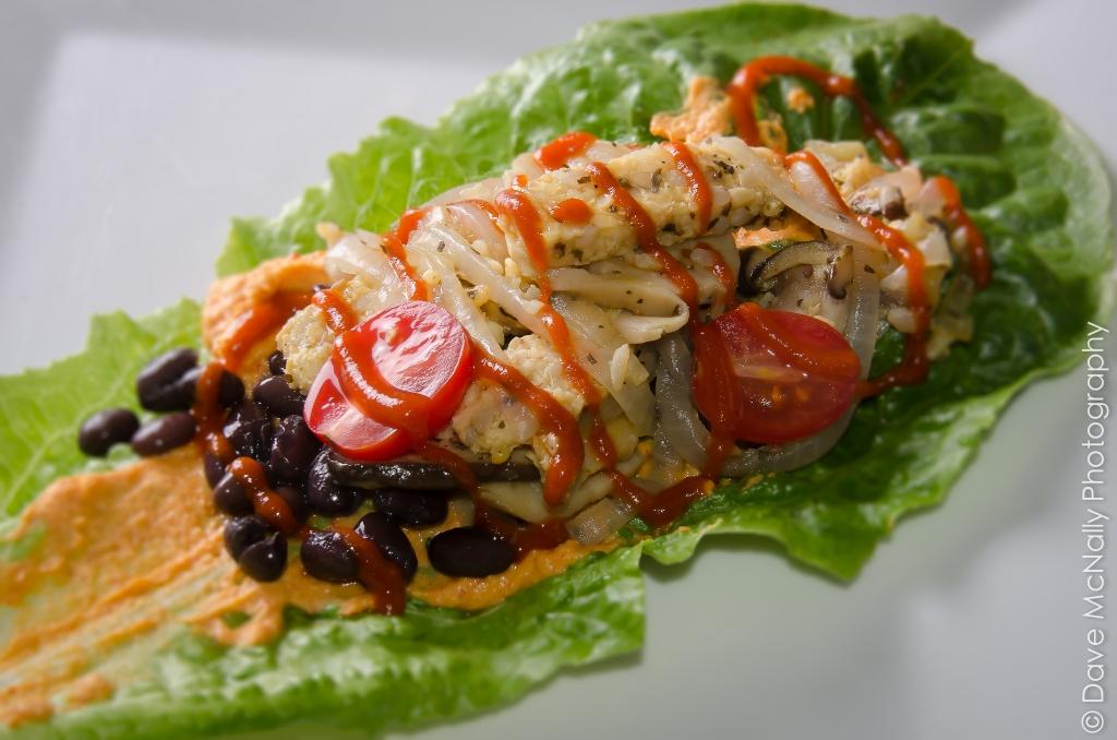 Romaine Tacos