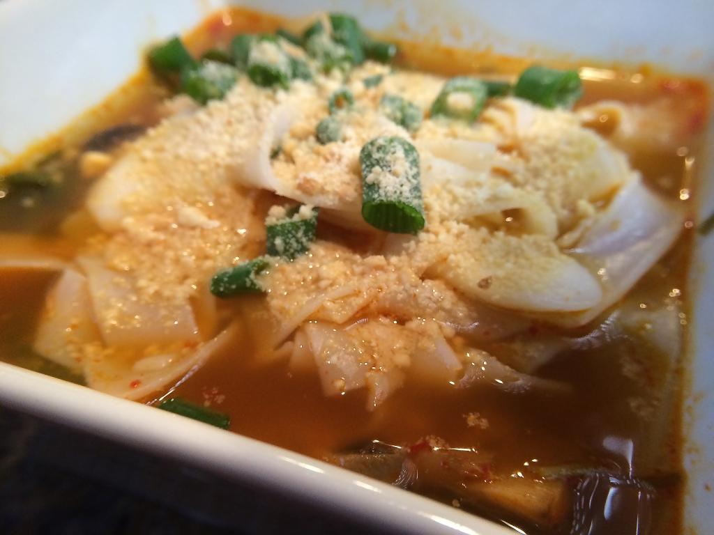 Spicy Noodle Vegan Soup!