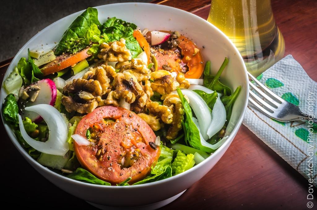 Monster Vegan Salad!