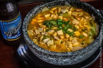 Spicy Vegan Noodle Soup!