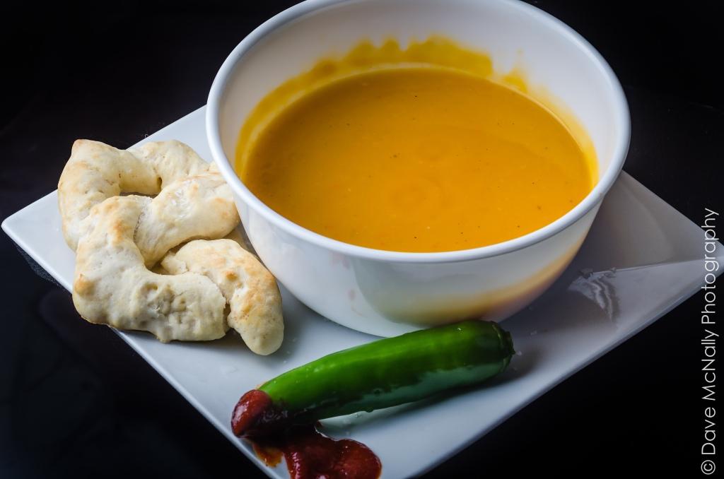 Homemade squash soup !