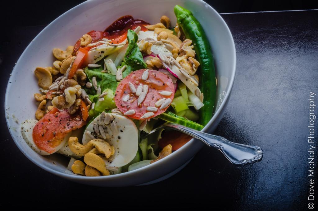 Salad for dinner!