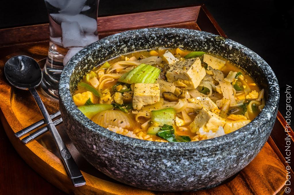 Spicy vegan soup!
