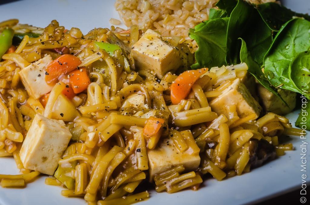 Vegan Tofu Noodle Stir Fry!