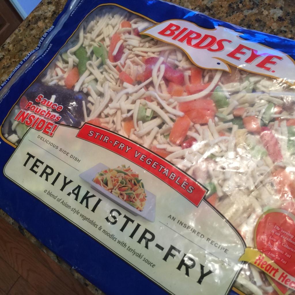 Bird's Eye Teriyaki Stir-Fry!