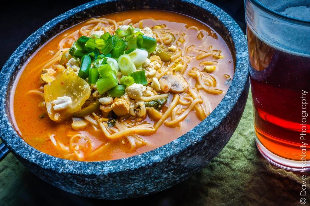 Thai Vegan Noodle Soup!