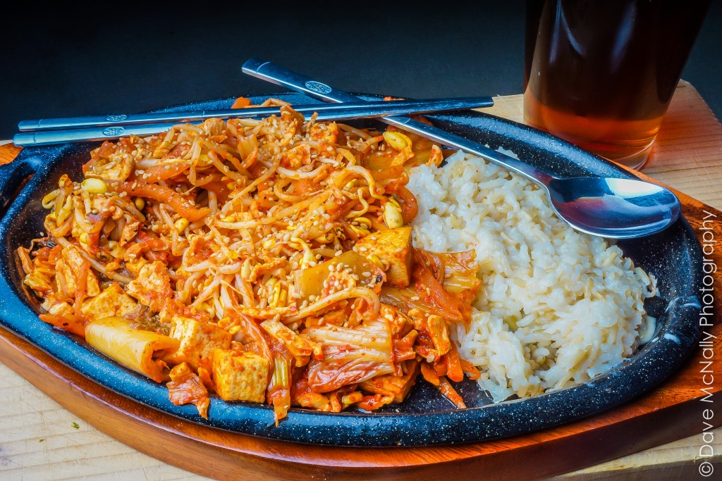 Korean Kimchi Stir Fry!