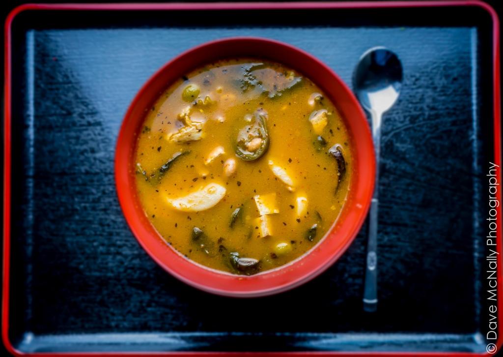 Leftover Mushroom Soup!