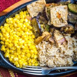Tofu Eggplant Stir Fry