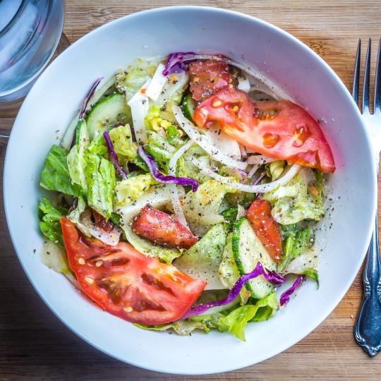 Big leafy salad!