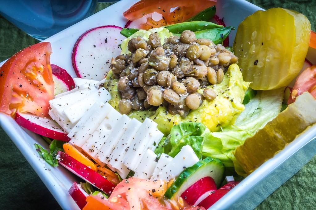 Nutritarian Salad!