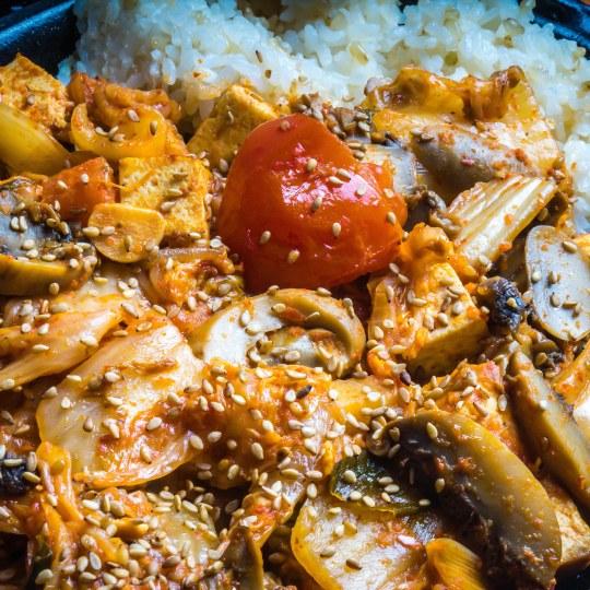 Kimchi Stir Fry
