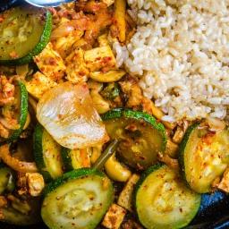 Korean Vegan Stir Fry