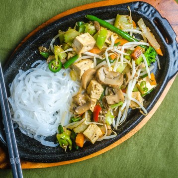 Stir Fry with Noodles