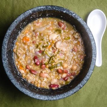 Freekeh Bean Soup