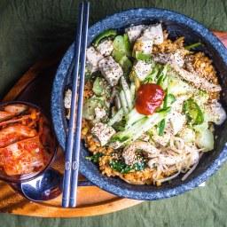 Vegan Tofu Bibimbap