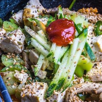 Vegan Tofu Bibimpap