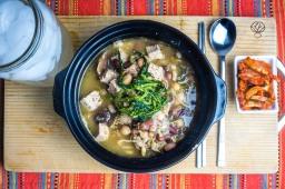Tofu and Bean Soup